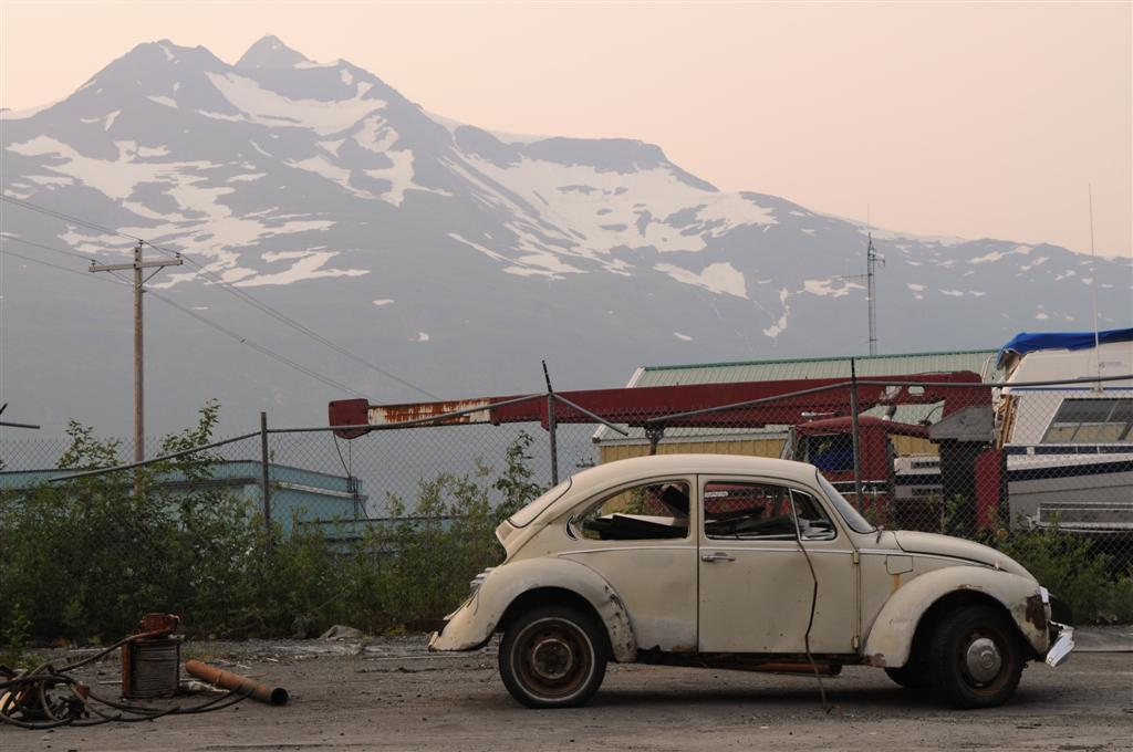 Alaska Two: a junk wasteland.