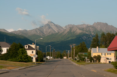 Idyllic Palmer, the breadbasket of Alaska.