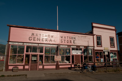 The general store in Carcross, which serves up particularly tasty $2 muffins.