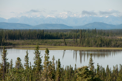 The St Elias range, home to the largest national park in North America.