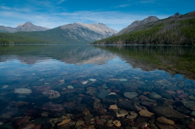 Kintla Lake, Glacier National Park.