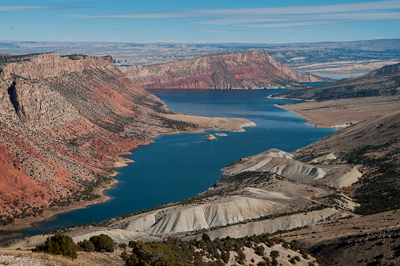 The Flaming Gorge Recreation Area, where dinosaurs did once roam...