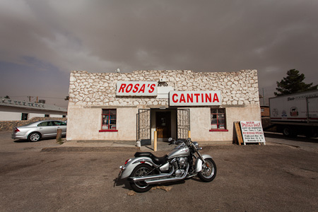 Lunch ($5, inc soup and ice tea) at Rosa's Cantina. It's an El Paso institution.