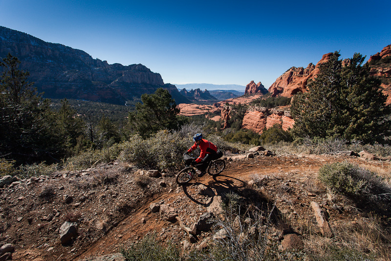 Rumour has it there are over three hundred miles of trails in Sedona...