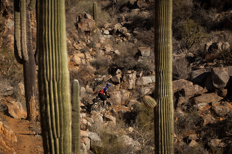 The Black Canyon Trail: Land of the Saguaros.