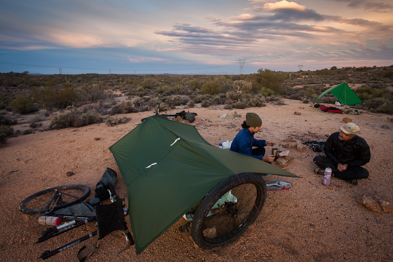 Its The Excuse We Need To Linger Around Campsite In Absence Of Both Tent Poles And Trees Note Joes Cunning Use Two Front Wheels Support His