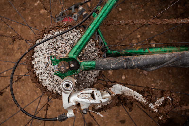 And the cassette... and the derailleur...