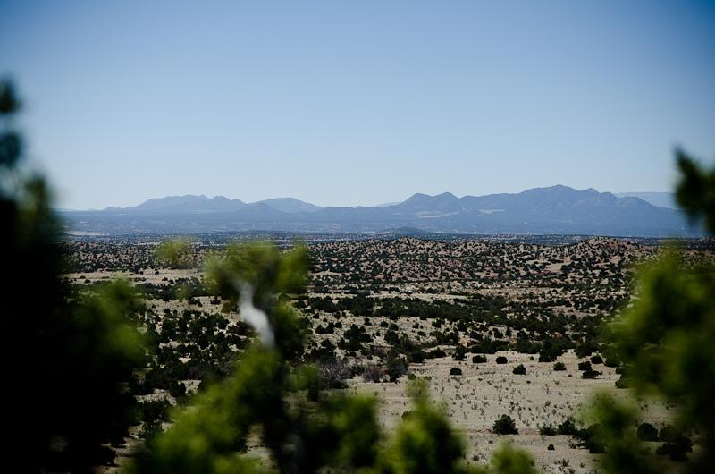Galisteo Basin Preserve, Lamy.