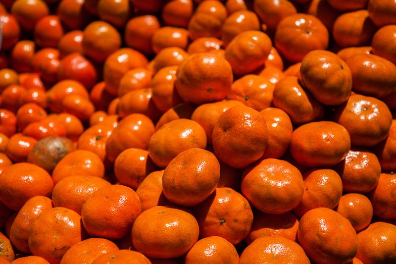 A half kilo of tangerines...