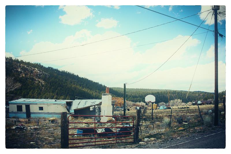 Roadside scene.