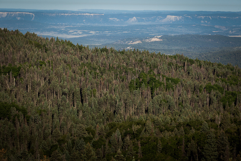A first peek at the the Brazos Cliffs, part of a mountain range that runs from the Coloradan border.