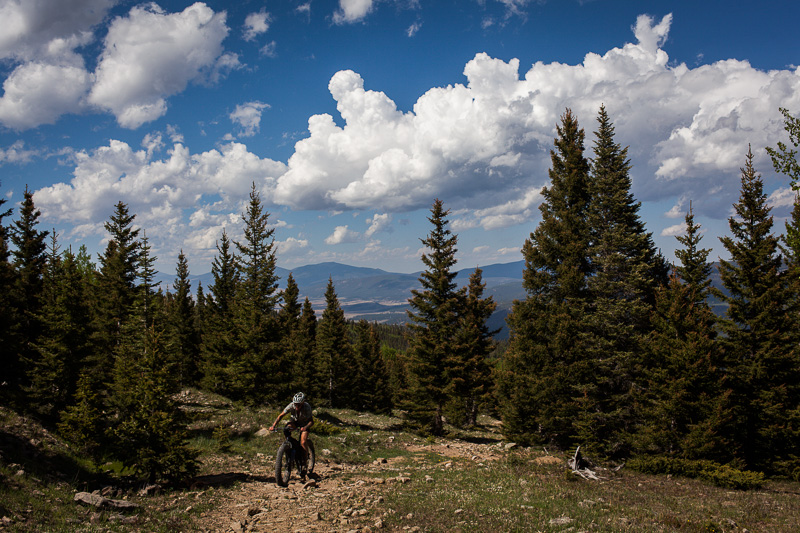 The week before, we rode the IMBA epic South Boundary Trail.