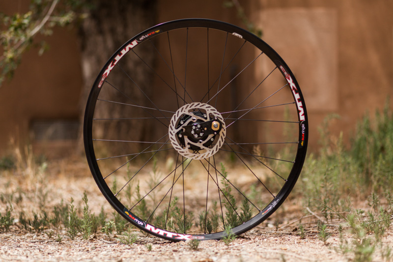 Full wheel weight is a hefty 2866g. But if it doesn't kill you, it will just make you stronger, right?